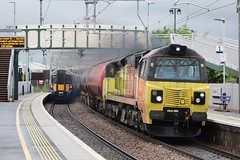 CAMELON 70802, 385123 (johnwebb292) Tags: camelon diesel class 70 70802 colasrail electric emu 385 385123