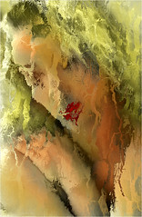 REMY ANNE 1999 V1 (REMYRO) Tags: portrait surréaliste rouge vert nu pudique