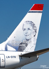 Karen Blixen livery (Dawlad Ast) Tags: aeropuerto internacional schiphol amsterdam airport international mayo may 2019 avion plane airplane aircraft spotting aviation aviacion ams holanda holland boeing 7378jp lndyn norwegian air shuttle sn 39006 karen blixen b737 b738 737800 737