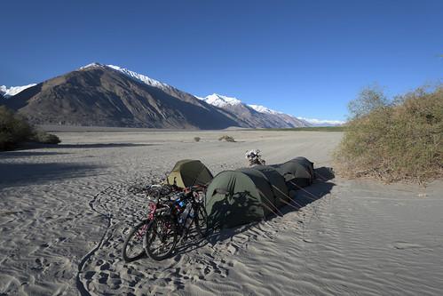 campspot in Wakhan valley - Tajikistan