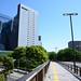 Road above Fuchu-kaido at the North of Kawasaki Station