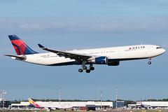 Delta Air Lines Airbus A330-300 N824NW | Milano - Malpensa (MXP-LIMC) | 31st May 2019 (Brando Magnani) Tags: