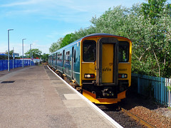 150207 Exmouth (1) (Marky7890) Tags: gwr 150207 class150 sprinter 2f41 exmouth railway devon rivieraline train