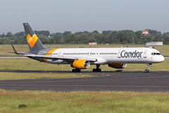 Condor - Boeing 757-3CQ(WL) - D-ABOP (Jesse Vervoort) Tags: airplane aeroplane aircraft plane boeing 757 condor winglets dusseldorf