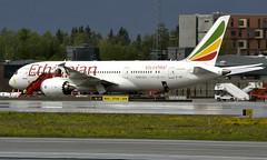 Ethiopian ET-AOT, OSL ENGM Gardermoen (Inger Bjørndal Foss) Tags: etaot ethiopian boeing 787 dreamliner osl engm gardermoen