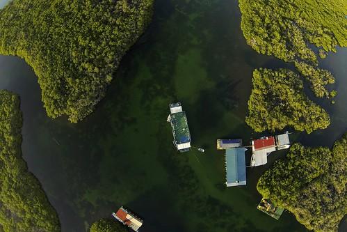 Aerial view Tortuga