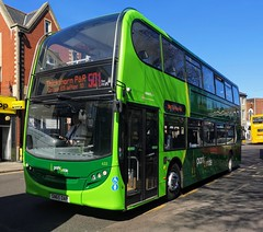 Konectbus 633 is on Castle Meadow while on route 501 to Thickthorn P&R. - SN65 OAP - 1st April 2019 (Aaron Rhys Knight) Tags: konectbus 633 sn65oap 2019 castlemeadow norwich norfolk goeast goahead alexanderdennis enviro400