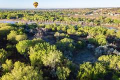 Hot Air Balloon Ride - Albuquerque, New Mexico (BeerAndLoathing) Tags: aerialphotography usa rp newmexicotrip canon riogrande aerial albuquerque rainbowryders roadtrip trips river balloonride hotairballoon canonef1740mmf4lusm canoneosrp spring newmexico 2019 nm april