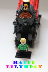 153/365- Happy Birthday!! (Kris English Photography) Tags: june 2019 365 infinitepossibilities happybirthday wizardingworld dracomalfoy hogwartsexpress
