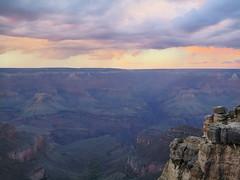 Grand Canyon sunset (trekphoto.webdev20.pl) Tags: usa grandcanyon wielkikanion arizona unitedstates stanyzjednoczone grandcanyonsunset sunset clouds chmury zachódsłońca grandcanyonnationalpark travel podróż