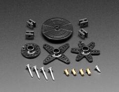 Standard Servo Arm and Horn Set - 25 Spline (adafruit) Tags: 4250 horns robotics servo servos