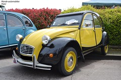 Citroën 2cv Charleston (Monde-Auto Passion Photos) Tags: voiture vehicule auto automobile citroën 2cv deuche deudeuche ancienne classique collection charleston rassemblement france courtenay