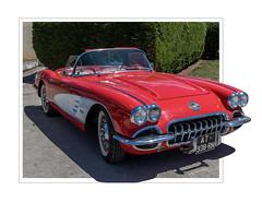 Chevrolet Corvette (JG Photographies) Tags: france french auvergne allier chantelle voiture véhicule chevroletcorvette collection jgphotographies canon7dmarkii