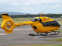 T7-NKA Eurocopter EC145 Helicopter (Private Owner) (Aircaft @ Gloucestershire Airport By James) Tags: gloucestershire airport t7nka eurocopter ec145 helicopter private owner egbj james lloyds