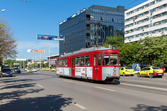 Dritter Frühling (trainspotter64) Tags: strasenbahn streetcar tram tramway tranvia tramvaj tramwaje rumänien românia moldau moldova iași gt4 st10 esslingen waggonunion