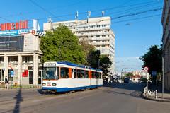 Zweites Leben auf dem Balkan (trainspotter64) Tags: strasenbahn streetcar tram tramway tranvia tramvaj tramwaje rumänien românia moldau moldova iași st10 waggonunion darmstadt heag