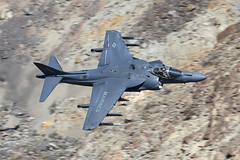 Harrier (Treflyn) Tags: mcdonnell douglas av8b av8 harrier ii 164549 dd 81 dust devils vx31 china lake rainbow canyon death valley national park california usa