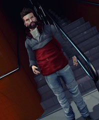 #161 - A&D Clothing (by Blog: Male Fashion Modern) Tags: pose men adclothing catwa madamenoir posesion cinphul secondlife style