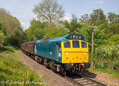 D7535 Arley Up Home (Erlestoke7812) Tags: diesel locomotive train railway british uk severnvalley severnvalleyrailway heritage heritagetraction ukheritagehub vintage ukrailscene britishrailways worcestershire blue sulzer babysulzer class25 d7535 southdevontractiongroup southdevonrailway arley