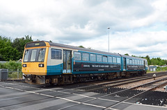 TfW 142075, Gloucester Horton Road (sgp_rail) Tags: gloucester glos gloucestershire train rail railway horton derby road level crossing trainspotting june summer 2019 tfw transport wales pacer class 142 142075 nodding donkey arriva livery dmu diesel multiple unit passenger stopping stopper