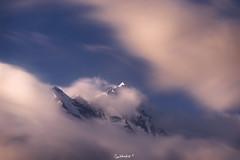 Wind of the Mountains (Subhadip C, AFIAP) Tags: peak trishul himalayas garhwal uttarakhand longexposure india