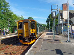150207 Topsham (Marky7890) Tags: gwr 150207 class150 sprinter 2t24 topsham railway devon avocetline train