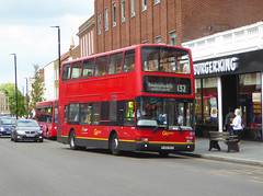 GAL PVL284 - PJ02RCU - ELTHAM HIGH STREET - SAT 25TH MAY 2019 (Bexleybus) Tags: eltham se9 tfl route high street shopping centre volvo plaxton president b7tl goahead go ahead london pvl284 pj02rcu 132