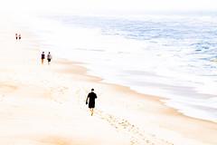 Bright light at the beach (bhermann.hamburg) Tags: strand beach wasser water see sea ozean ocean spaziergang walk highkey