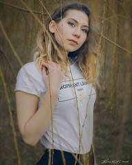 Sasha.. (lulo92) Tags: sasha ukraine poland blonde curly femenale girl woman pretty eyes eye nikon nikonpl pl polska nikonpolska portrait cracovia krakoe krakow