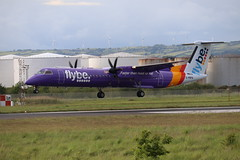 Flybe G-PRPA BHD 03/06/19 (ethana23) Tags: planes planespotting aviation avgeek aeroplane aircraft airplane flybe bombardier dash8 q400