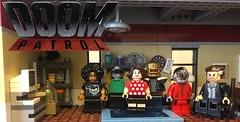 Doom Patrol. (mattyjory) Tags: minifig blocks superhero's dclego lego dccomics dc patrol doom doompatrol