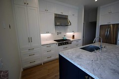 These beautiful complete Home Remodel that we have completed in the city of Laguna Niguel, Orange County. Complete kitchen remodeling with custom white kitchen cabinets & dark Island. (Aplus Interior Design & Remodeling) Tags: kitchenremodel kitchen kitchenisland kitchenrenovation kitchencabinets remodel residentialdesign generalcontractors