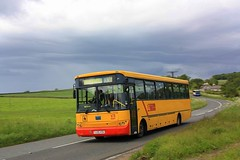 In the Machars (Chris Baines) Tags: causeway end dumfries galloway council operated bmc yj05 kou school bus service