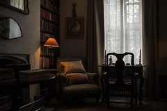 The chair in the corner (Paulie-W) Tags: house room light chair vintage historic
