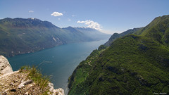 Lago di Garda (peter-goettlich) Tags: gardasee italien trentino see berge berg wolken fels italy lake mountain mountains clouds rock landscape landschaft forest wald nikon tokina1116 tokina d7000