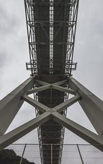 Sous le pont (stephanexposeinjapan) Tags: japon japan asia asie stephanexpose canon 600d 1635mm panoramique panorama pont bridge mer sea eau water shimonoseki mojiko