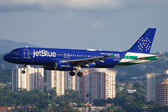 N531JL (Hector A Rivera Valentin) Tags: n531jl jetblue airways airbus a320232 named bluefinest 052017 painted newyorkcitypolicedepartment special colours san juan luis muñoz marín international sju tjsj