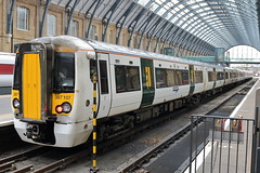 387107 (ANDY'S UK TRANSPORT PAGE) Tags: trains kingscross class387 tsgn greatnorthern