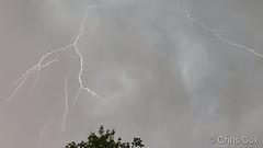 June 3, 2019 - Lightning pops over Thornton. (Chris Cox)