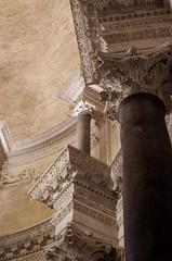 Stone carving (sfryers) Tags: svetogduje svetidujam cathedral door historic romanesque wood carving split dalmatia croatia hrvatska smc pentaxfa 35mm 12