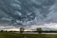 June 3, 2019 - Stormy clouds over the Adams County Fairgrounds. (Tony's Takes)
