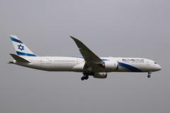 El Al B789, 4X-EDI, LHR (LLBG Spotter) Tags: elal b787 aircraft egll 4xedi lhr airline
