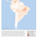Total Area Burned for All Fire Types, 2015: South America