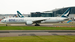 Cathay Pacific (Oneworld) Boeing 777-367/ER B-KQI (StephenG88) Tags: londonheathrowairport heathrow lhr egll 27r 27l 9r 9l boeing airbus may20th2019 20519 myrtleavenue renaissanceheathrow cathaypacific cathay pacific cpa cx 777 77w 777300er 773 777367er bkqi oneworld