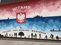 Canadian Polish Congress Wall mural in Toronto (Trinimusic2008 -blessings) Tags: trinimusic2008 judymeikle nature june 2019 random gratitude toronto to ontario canada