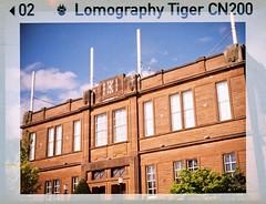 Easterbrook Hall (bigalid) Tags: film 110 halina haking superminiflash dumfries 2019 may crichton lomographytiger200cn