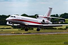 N988H (matt_dvc) Tags: aviation planespotting luton ltn londonlutonairport avgeek bizjets avporn nikon sigma