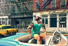 B#29 (Catlo Cyberstar) Tags: wetcat beard blog blogger car catwa event fashion gay men mf ohemo opening oxydate poses signature sparrow straydog tattoo vintagefair schultz bros