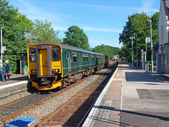 150248 Topsham (Marky7890) Tags: gwr 150248 class150 sprinter 2b82 topsham railway devon avocetline train 2f43