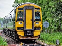 158702 @ Dingwall (A J transport) Tags: class158 express 158702 diesel dmu scotland scotrail saltirelivery railway trains